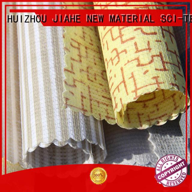 textile brand printed non woven fabric fabric JIAHE Brand company