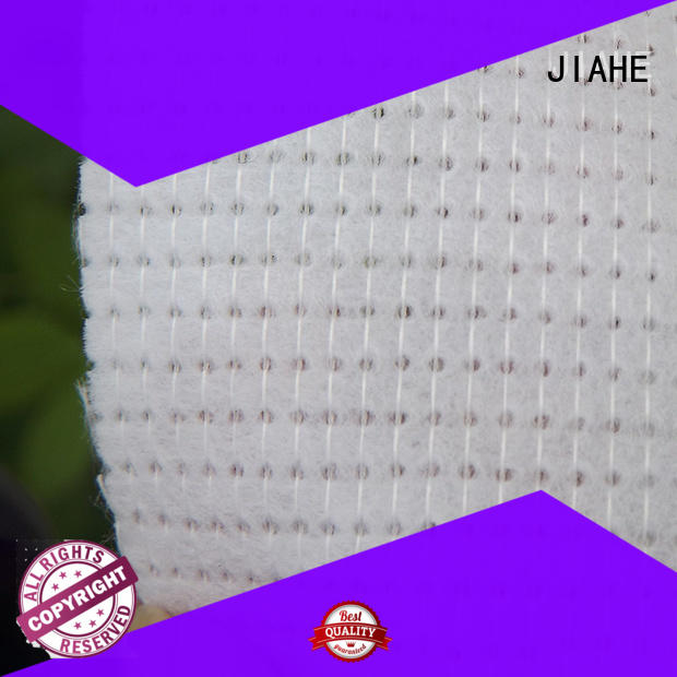 JIAHE Brand cold white polyester roofing fabric fabric factory