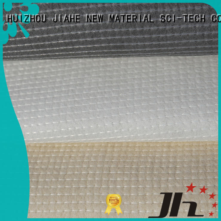 JIAHE coated mattress ticking fabric 100gsm for filler