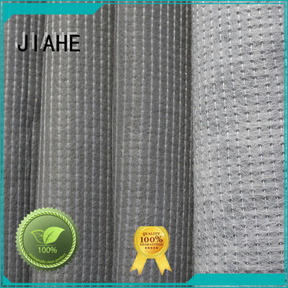 recycled polyester fabric components bottom stitchbond JIAHE Brand company