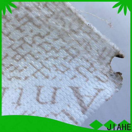 JIAHE various non woven polyester fabric textile for bed