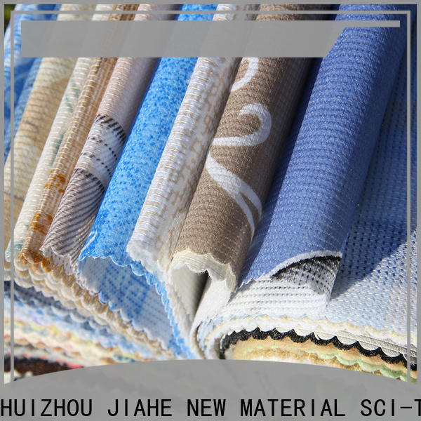 JIAHE 21m printed non woven fabric line for furniture