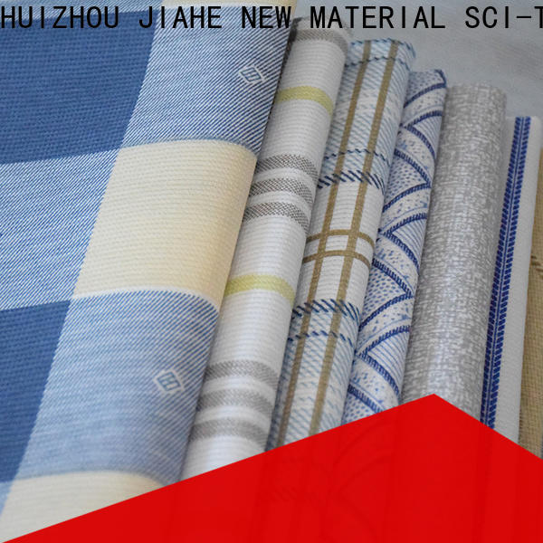 JIAHE ticking polyester fabric roll line for covers