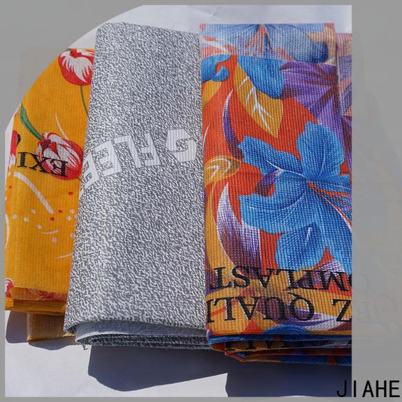 JIAHE non woven polyester fabric textile for bedding