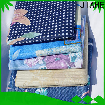 JIAHE single color non woven printing manufacturer for bed sets
