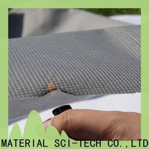 coated fireproof fabric materials supplier for covers