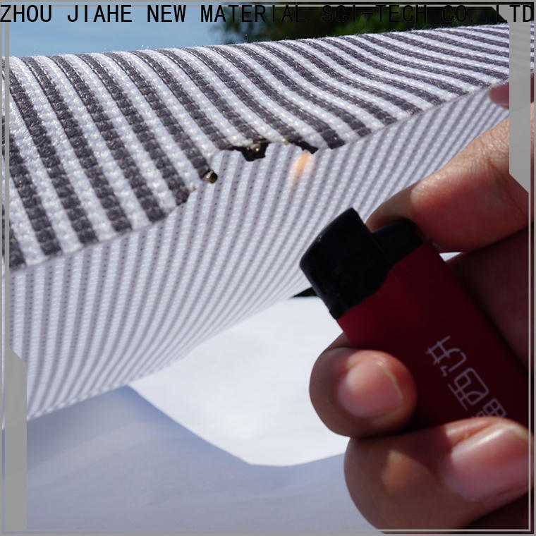 JIAHE blue non woven printing textile for bed